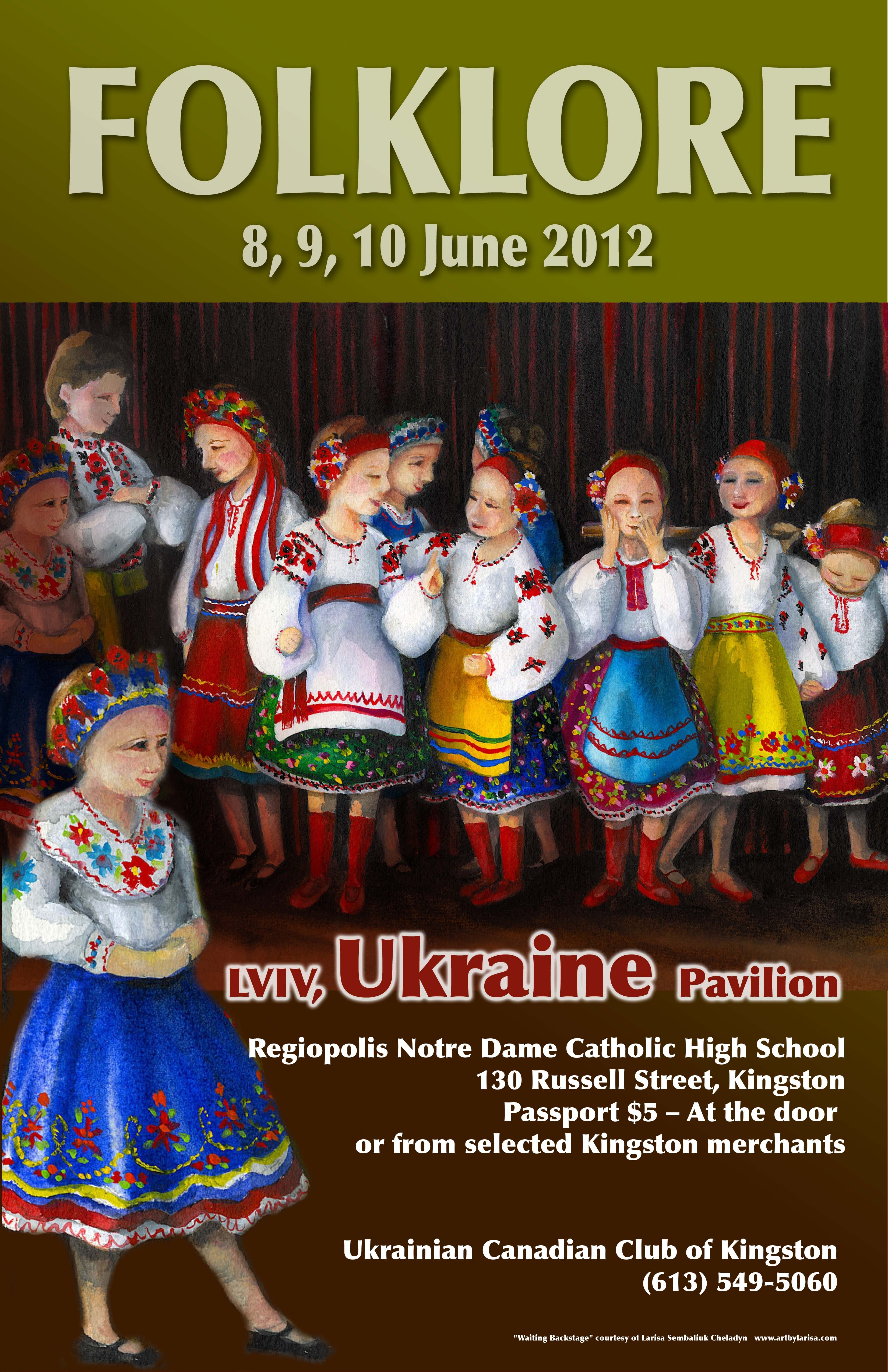 Lviv Ukraine Folklore Festival - Ukrainian Canadian Congress