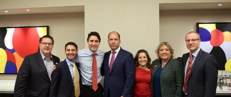 Trudeau UCC Group Pic