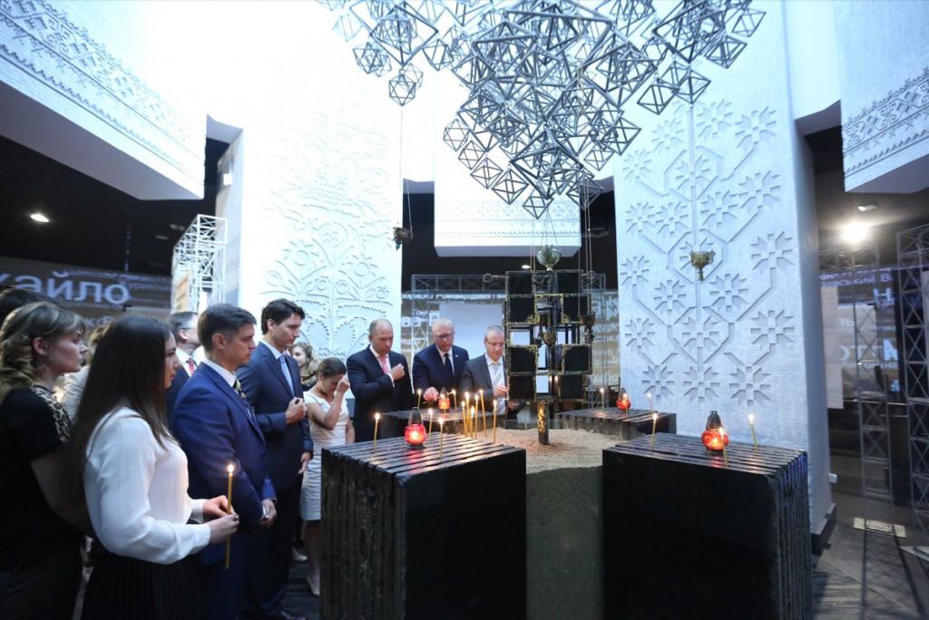 PM Trudeau Holodomor Memorial