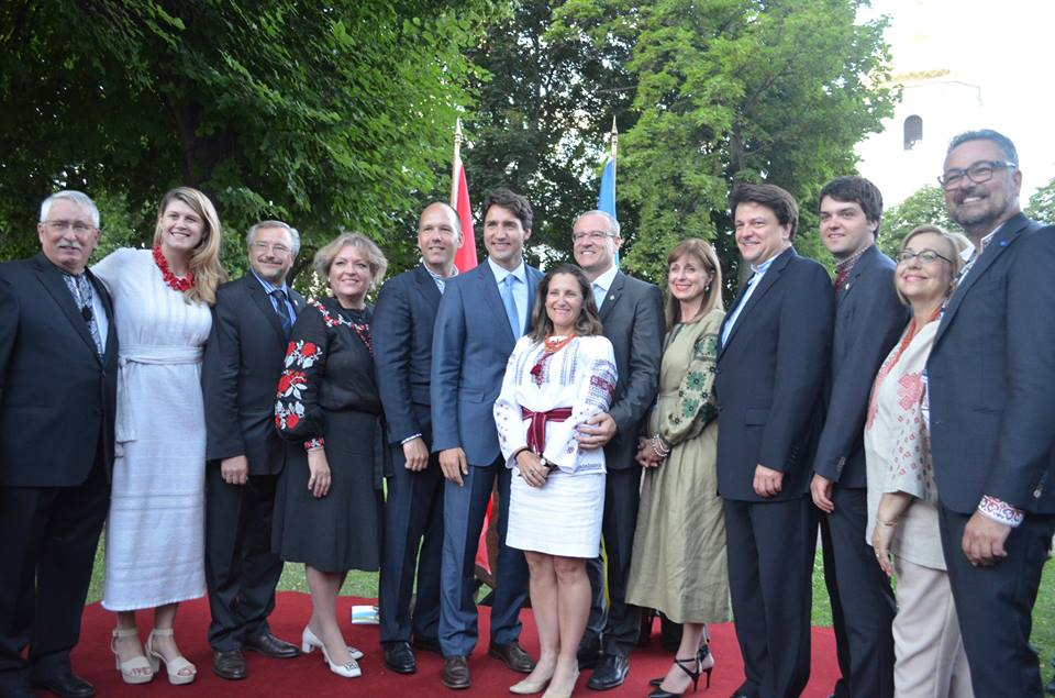 PM Trudeau and Delegation